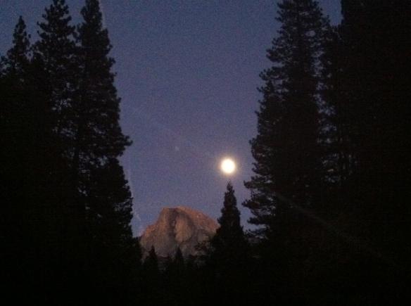 "Le fameux ""Half Dome"" de Yosemite..."
